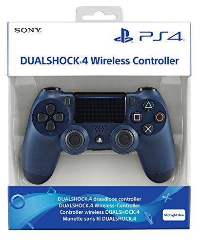PlayStation 4 - DualShock 4 Wireless Controller, Midnight Blue Dual Shock Controller