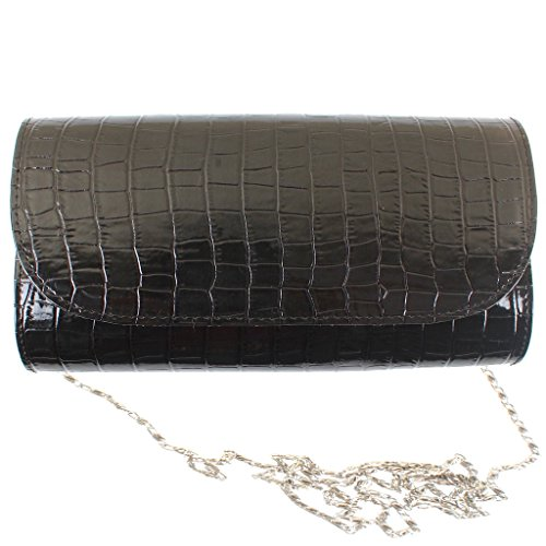DooDA Women's Shiny Fashionable Evening Party Wear Clutch Wallet Sling Hand-Bag With Strap & Smooth Inner Fabric & Strong Magnetic Closure  available at amazon for Rs.199