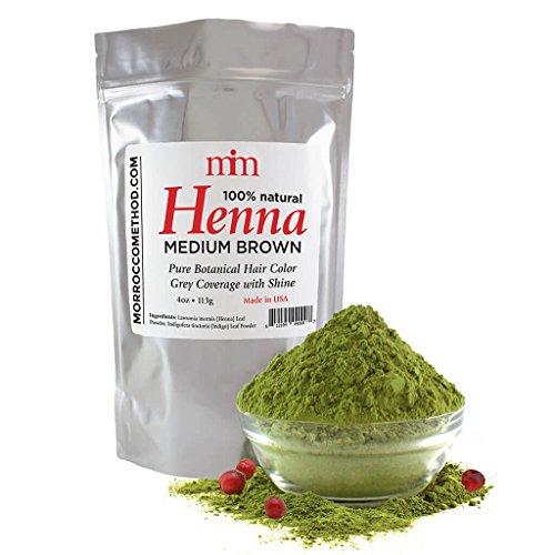 Morrocco Method Medium Brown Henna Hair Dye