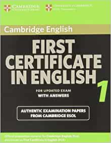 B2 First (First Certificate in English) Examination - Free ...