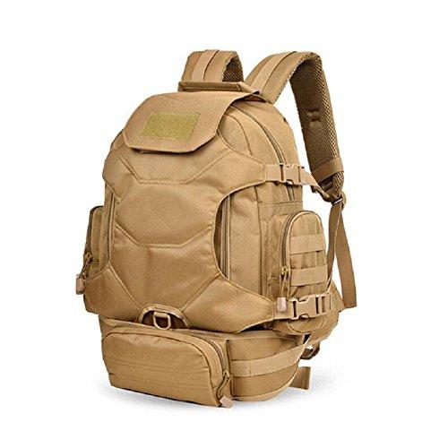 ZC&J Sac à dos de camouflage universel pour hommes et femmes, sac à dos de sport de 30 litres, multi-usage, randonnée, sac à dos d'équitation