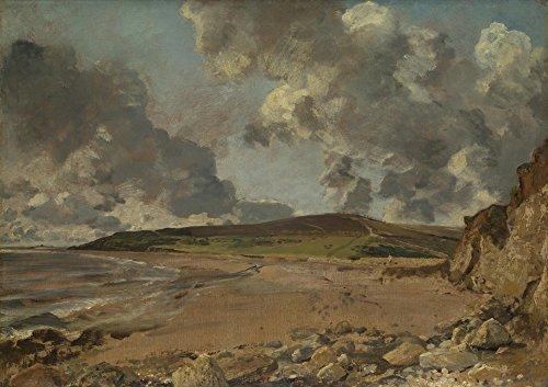 Das Museum Outlet-John Constable-Weymouth Bay-bowleaze Bucht und Jordon Hill-Poster Print Online kaufen (101,6x 127cm)