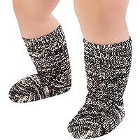 Baby Socken Winter,Covermason Kinder Kleinkind Baby Mädchen Jungen Socken Karikatur Anti-Rutsch Gestrickt Lange Socken Kniestrümpfe