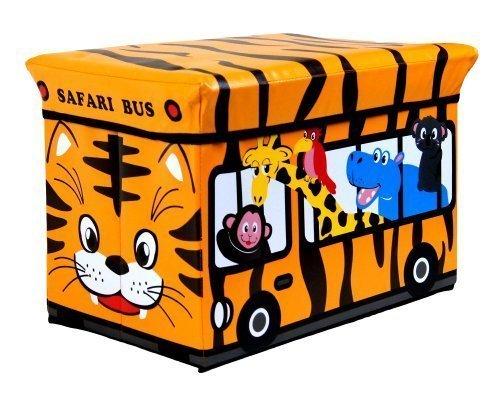Fußbank Kinder Groß Speicherung Sitz Spielzeug Bücher Kleidung Box