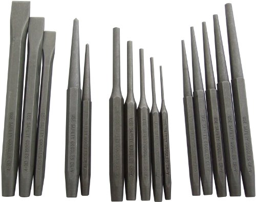Price comparison product image Am-Tech Mechanics Punch and Chisel Set (16 Pieces)