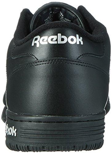 Reebok Ex-o-Fit Clean Logo Int, Baskets Basses Homme Noir (Black/Silver/Silver)