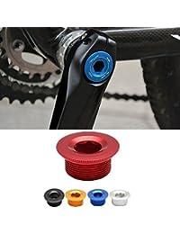 Bazaar Bras de manivelle vélo pièces de vélo de pédalier boulon de fixation couvercle à vis