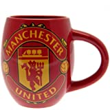 Official Football Team Ceramic Tea Mug, Manchester United FC