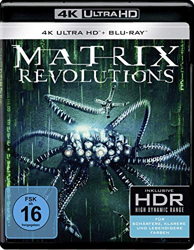 Matrix Reloaded 4K Ultra HD + Blu-ray