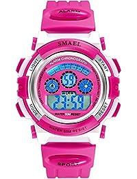 AnazoZ Reloj de Estudiante Reloj Inteligente Relojes Niños Relojes Electronicos Reloj Impermeable Reloj Smartwatch Reloj Multifunción