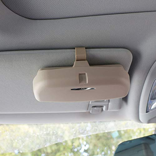KDKDWXYKD Car Glasses Box Storage Holder Gafas Sol
