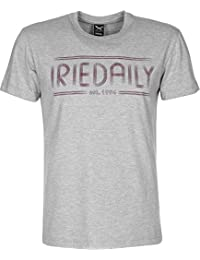 Iriedaily Striped Typo T-Shirt