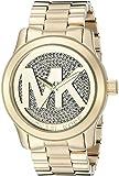Michael Kors Damen-Armbanduhr XL Analog Quarz Edelstahl MK5706