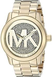 Michael Kors Women's Watch XL Analogue Quartz Stainless Steel MK5706