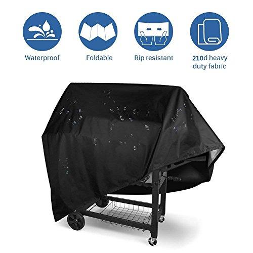 Heavy Duty Waterproof Housse pour barbecue extérieur jardin BBQ Brûleur Capot Noir Tous en forme de