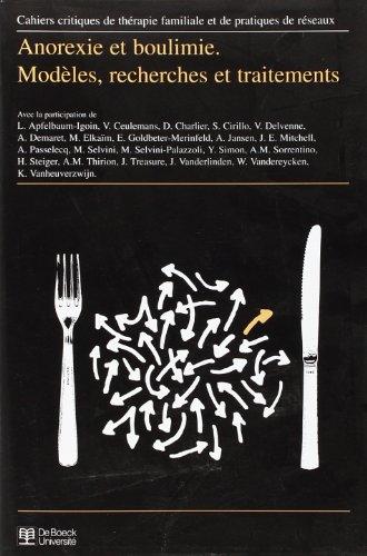 Cahiers critiques de thérapie familial et de pratiques de réseaux. Anorexie et boulimie, numéro 1996/1