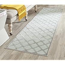 Damon gris para decoración de alfombra: 66 x 243 cm camino de mesa (2' 1-cm x 213,36 cm 27,94 cm)