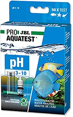 JBL 2St PH Test 3,0-10,0 Bestimmung des Säuregehalts des Wassers