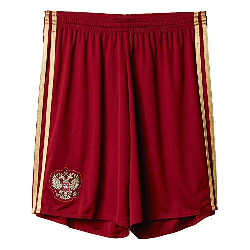 adidas Herren Shorts RFU H SHO Heimshort, Collegiate Burgundy/Dark Football Gold, S
