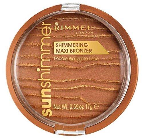 Rimmel London Sun Shimmer Maxi Cipria Abbronzanti - 17 gr