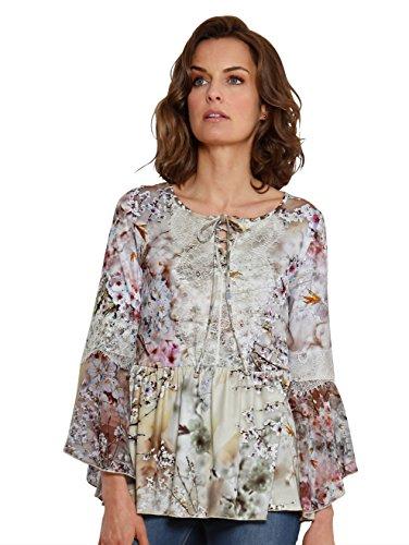 Damen Shirt mit aufwendigem Druck by AMY VERMONT Multicolor