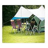 L&Z Bâche Tente Anti Pluie Abri De Randonnée Tapis Étanche Coupe-Vent Anti-Neige Camping Abri, Portable