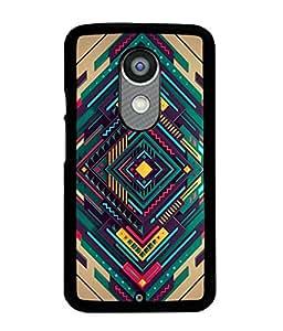 PrintVisa Back Cover for Motorola Moto X2 (Multi-coloured)