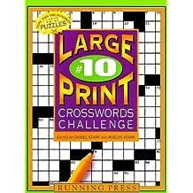 Large-print Crosswords Challenge 10