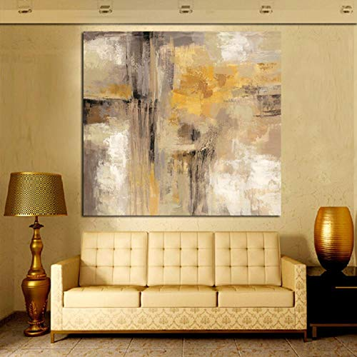 Ywsen Cuadro Abstracto Pintura óleo Lienzo