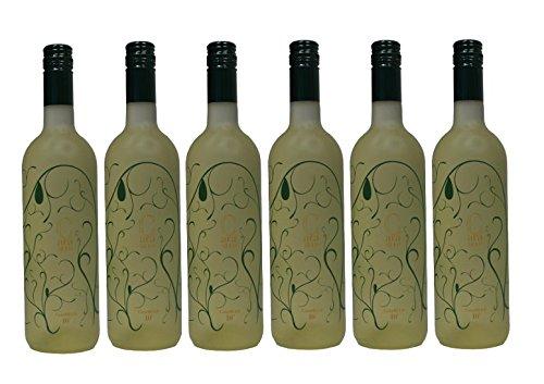 6x 750ml Tsantali Caramelo Weißwein lieblich - weißer griechischer lieblicher Weiß Wein 6er Set + 2 Probier Sachets Olivenöl aus Kreta Griechenland a 10 ml