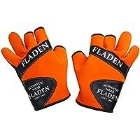 Fladen Naranja Guantes de neopreno con split dedo, Unisex, Authentic Neoprene, naranja