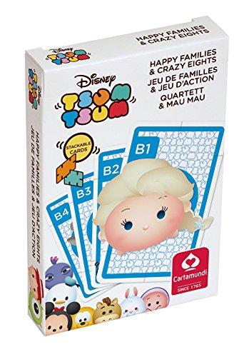 Shuffle Cartamundi 108338928Tsum Tsum Happy familles Jeu de Cartes