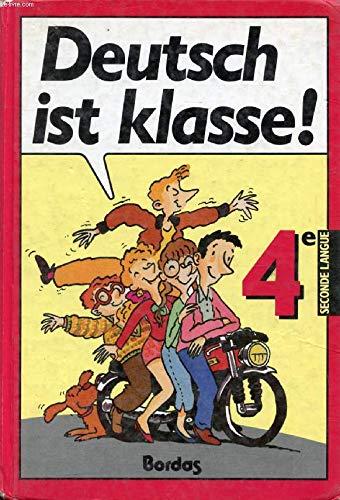Deutsch ist klasse allemand 4e manuel (1988) 022796 par Sollfrank