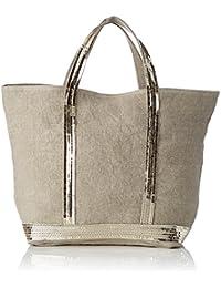 Vanessa Bruno Damen Cabas Moyen Einkaufstasche, Beige (Sand), 16x44x30 cm