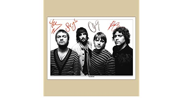 KASABIAN Signed Autograph Photo Print A4 210 x 297mm 30