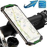 Support Téléphone Vélo & Moto avec Rotation 360°pour iPhone X/ 8 Plus/ 8/7 Plus,...