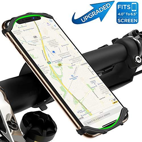 VUP Handyhalterung Fahrrad,Face ID/Touch ID kompatibel,360°drehbar Fahrrad Handyhalterung,universal Motorrad Handyhalterung für iPhone,Galaxy,Huawei&allen Handy,Handyhalter für Rennrad Mtb Kinderwagen (Home Setzen)