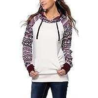 PAOLIAN Damen Mode Lässige Hooded Sweatshirt Kapuzenpullover Hoodie Herbst Winter Mantel Oberbekleidung Tops preisvergleich bei billige-tabletten.eu
