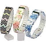 HB HOMEBOAT® Ersatz-Armband für Fitbit Flex Large 3-Pack