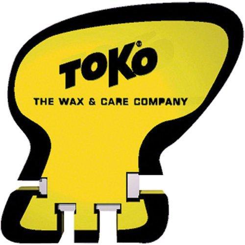 Toko Unisex Schaber Spitzer, gelb/schwarz, Einheitsgröße (Scraper Sharpener)