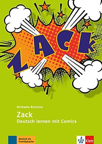 Zack Deutsch lernen mit Comics: Lehrerbuch mit Kopiervorlagen por Michaela Brinitzer
