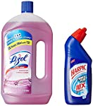 Lizol Disinfectant Surface Cleaner contains a distinctive formulation that kills 99.9 percent germs and gives 10X better cleaning and germ protection than standard phenyls. The product is available in 8 different fragrances and is perfect for floors,...
