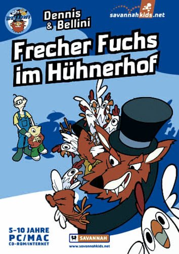 dennis-bellini-frecher-fuchs-im-huhnerhof-german-version