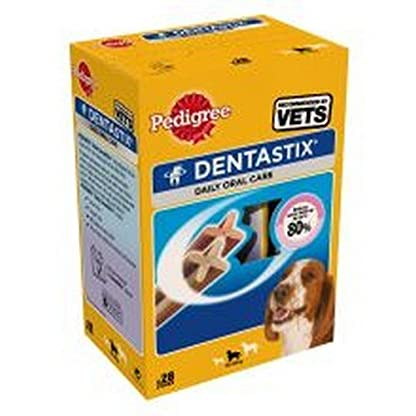 Pedigree DentaStix - Daily Dental Chews for Small Dogs (5-10 kg), 4 Boxes - 112 Sticks 2