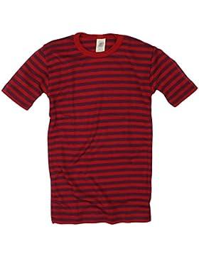 Kinder-Unterhemd Wolle-Seide T-Shirt