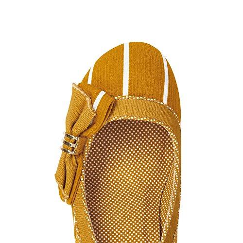 Ruby Shoo Women's Ochre Miranda Striped Court Shoe Pumps UK 6 EU 39