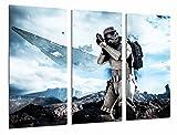 Cuadros Camara  Fotográfico Star Wars Ejercito Darth Vader, Batalla Soldado Nave Tamaño...
