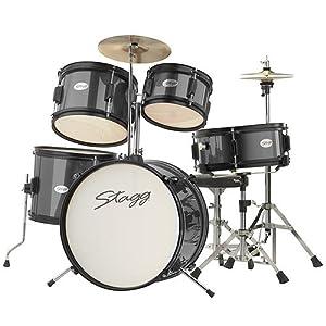 Stagg TIM JR 5/16 RD 5 Piece Junior Drum Kit