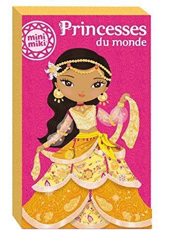 Minimiki - Cartes à pailleter Princesses du monde 2015