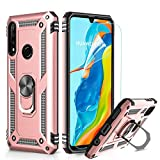 LeYi Case for Huawei P30 Lite with Ring Holder Kickstand,